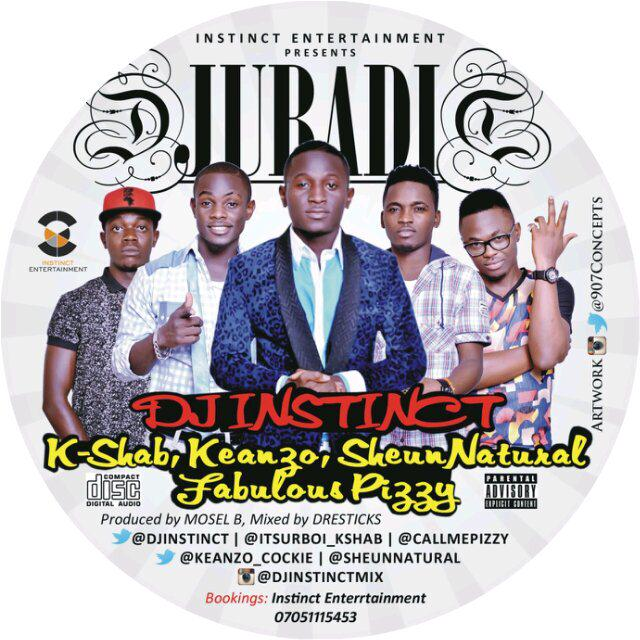 VIDEO: DJ Instinct Ft KShab, Keanzo, S Nutural & F Pizzy – Jubadi @Djinstinct @luxurypicture